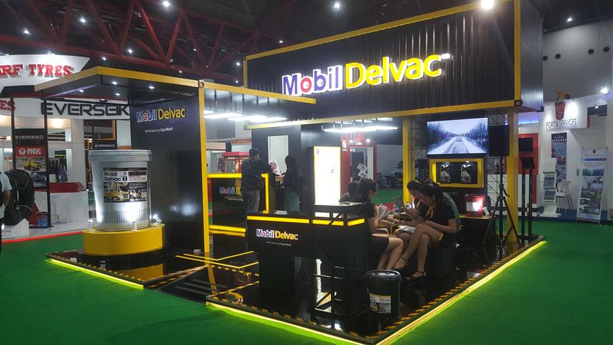 Exxon Mobil - Delvac Exhibition Jakarta 2018